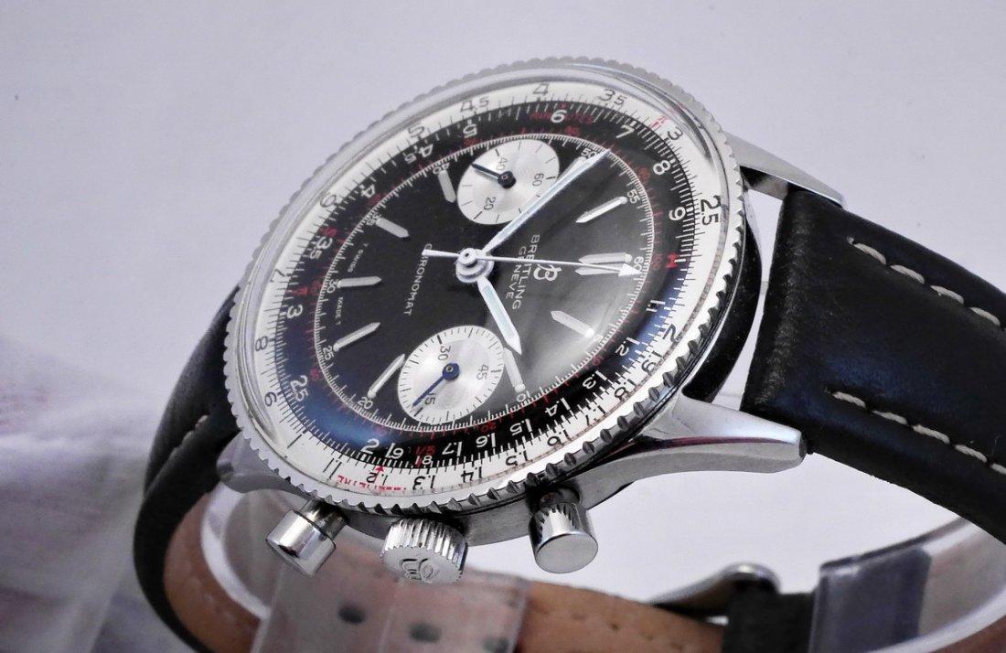 Vintage Breitling Chronomat 217012 Panda Dial 1970 - 3