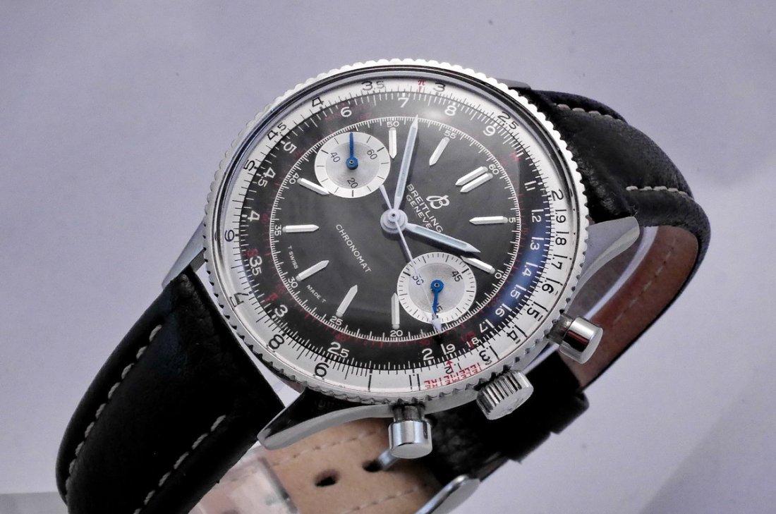 Vintage Breitling Chronomat 217012 Panda Dial 1970 - 4