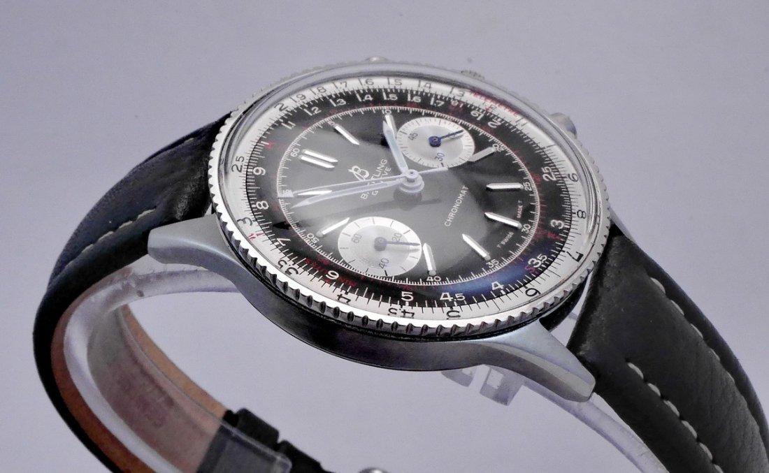 Vintage Breitling Chronomat 217012 Panda Dial 1970 - 6