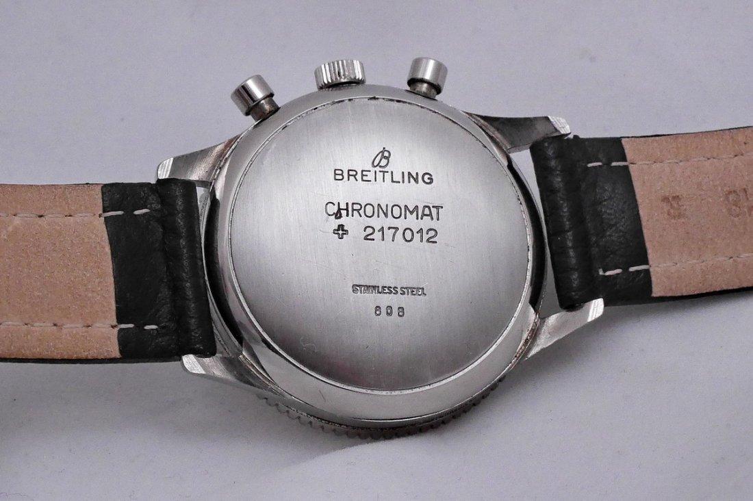 Vintage Breitling Chronomat 217012 Panda Dial 1970 - 7