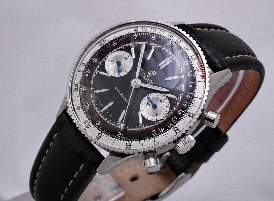 Vintage Breitling Chronomat 217012 Panda Dial 1970 - 8