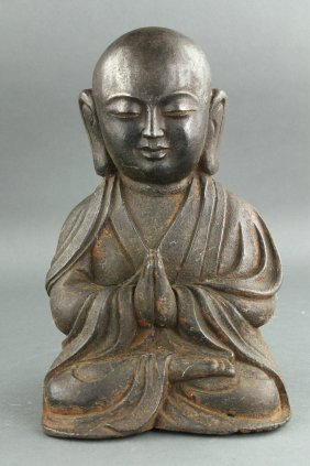 Chinese Metal Buddha Figure