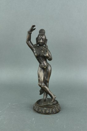 Burma Or India Bronze Figure 18/19th C.