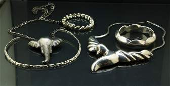 5 Pieces of Sterling Silver Jewellery