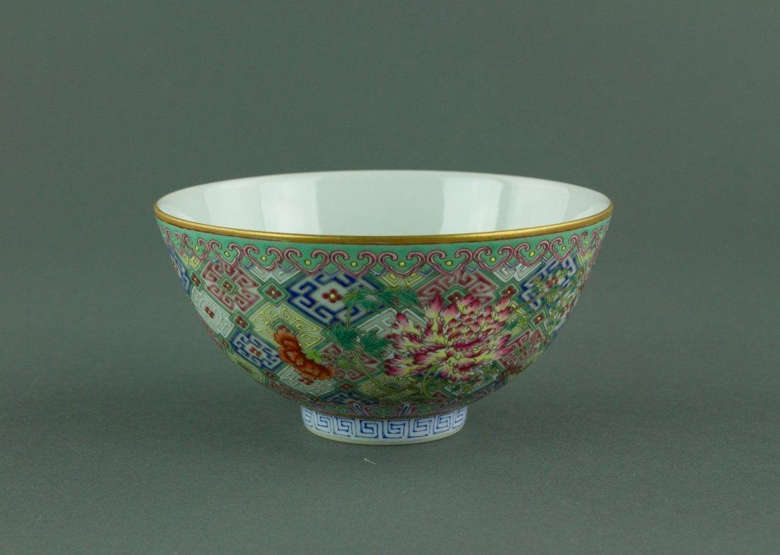 Daoguang Mark & Period Famille Rose Porcelain Bowl