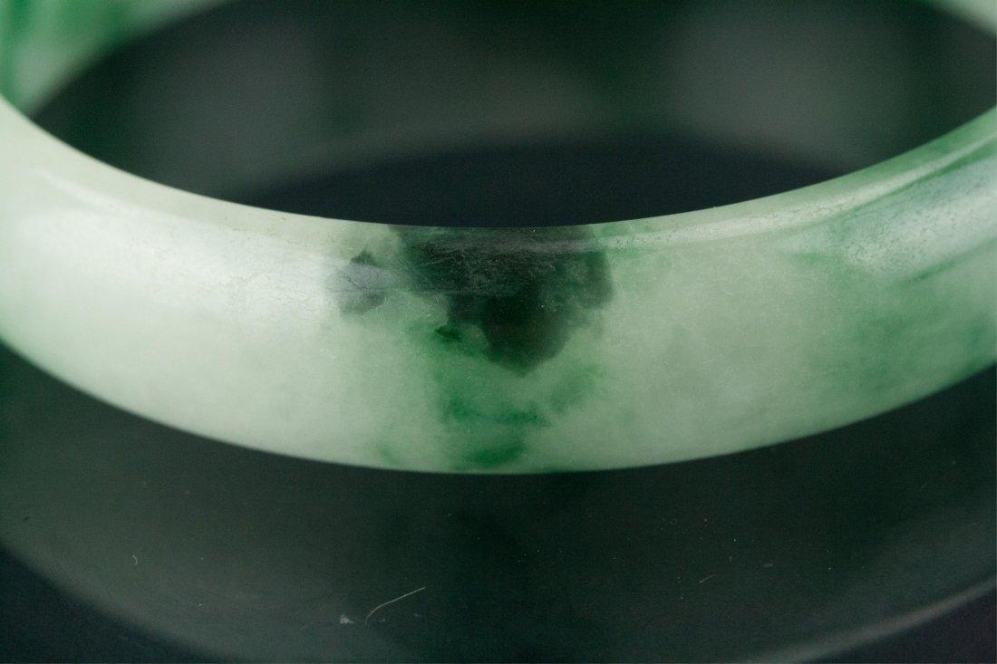 Chinese Green Jadeite Bangle - 3