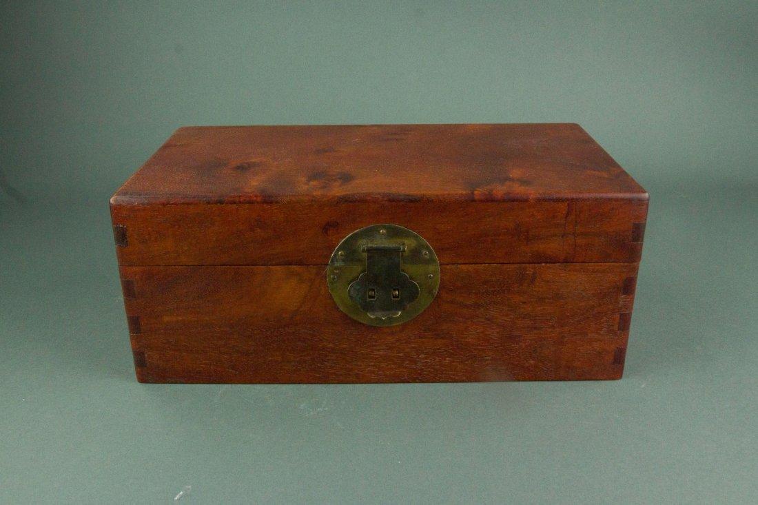 Chinese Rosewood Jewellery Box