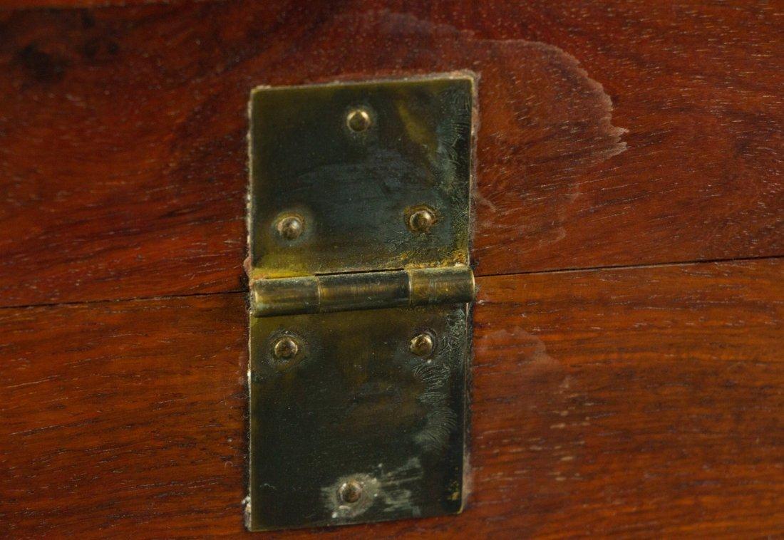 Chinese Rosewood Jewellery Box - 5