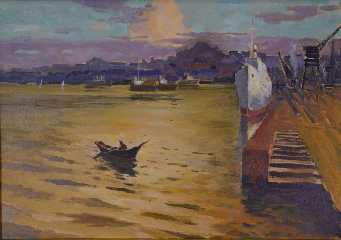 Konstantin Matveevic 1924-1994 Oil on Board