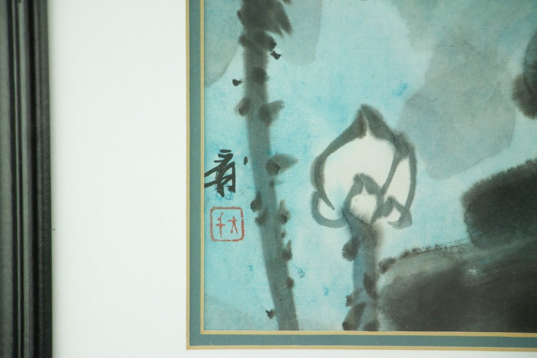 Zhang Daqian 1899-1983 Watercolour on Paper Frame - 2