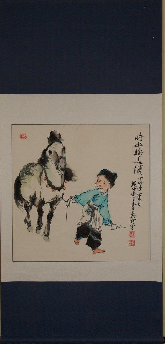 Fan Zeng b.1938 Watercolour on Paper - 4