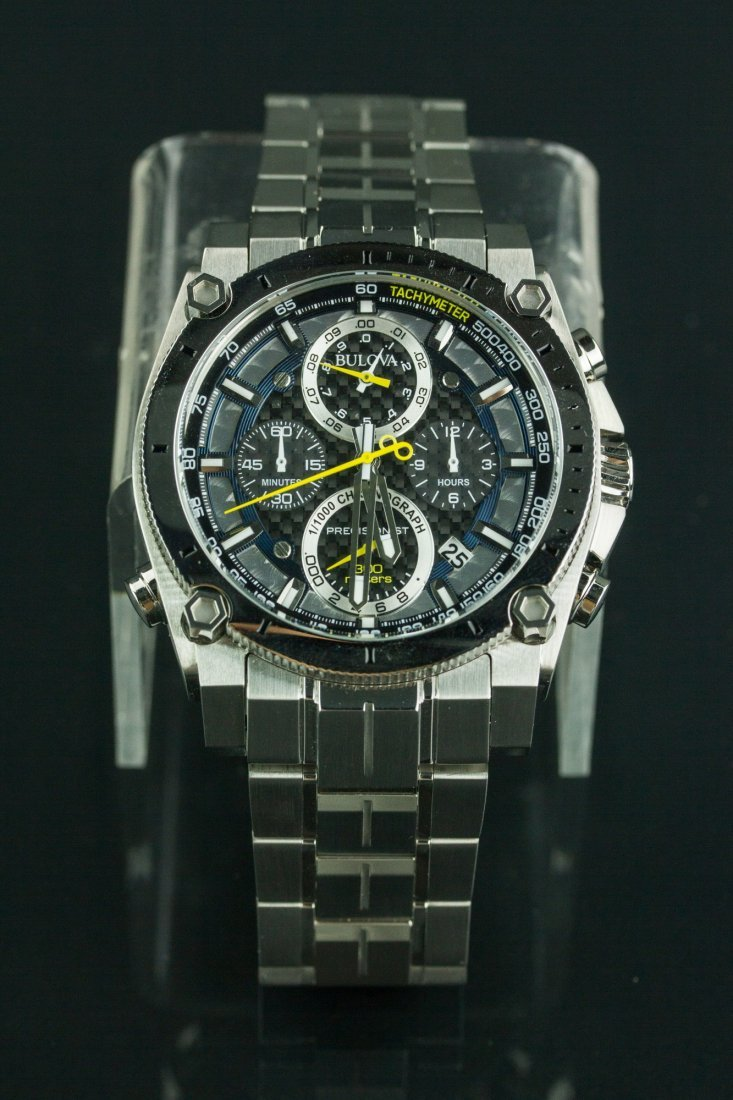 Bulova Precisionist Chronograph WR 300 Men's Watch