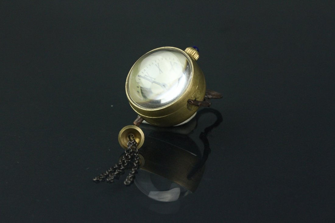 Omega Globular Pocket Watch Working Condition - 3