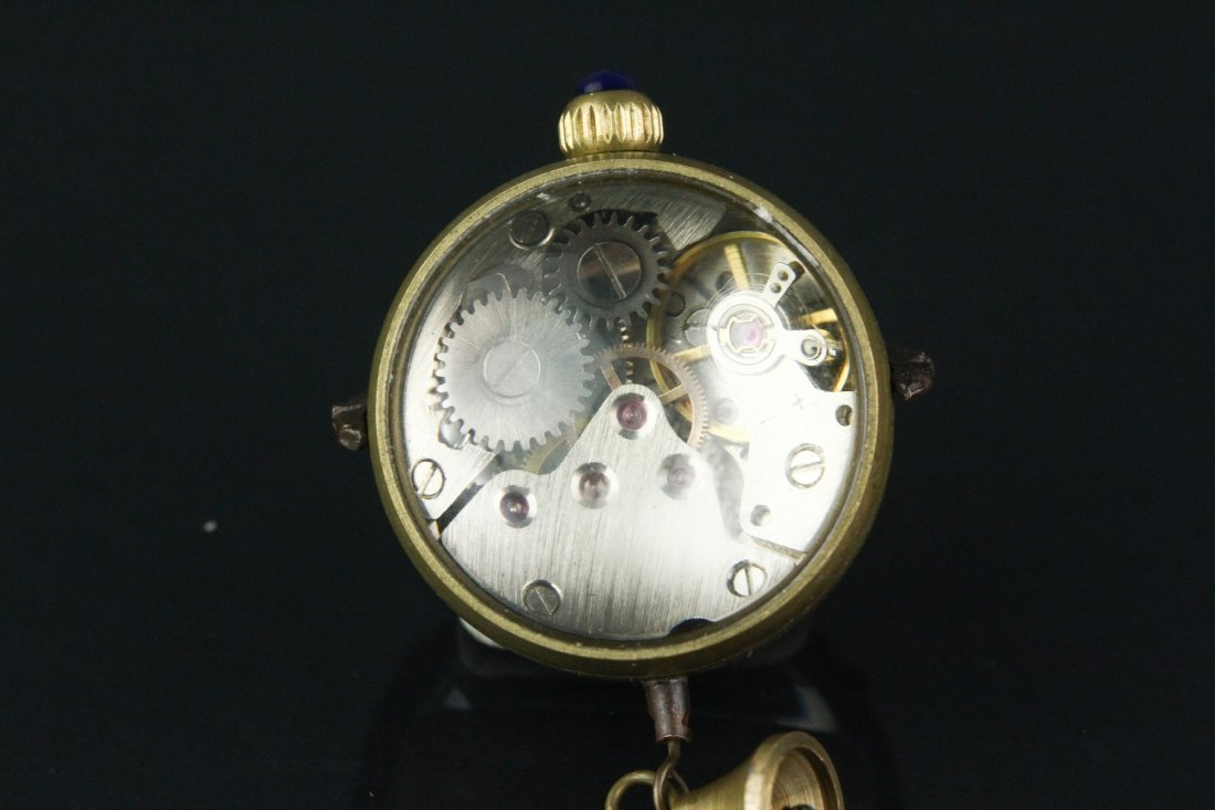 Omega Globular Pocket Watch Working Condition - 4