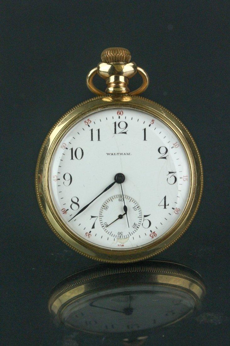14K Waltham Pocket Watch
