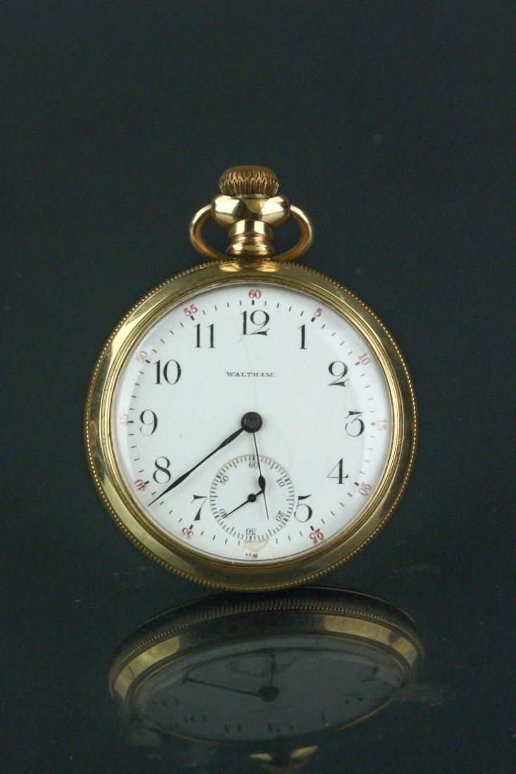 14K Waltham Pocket Watch - 2