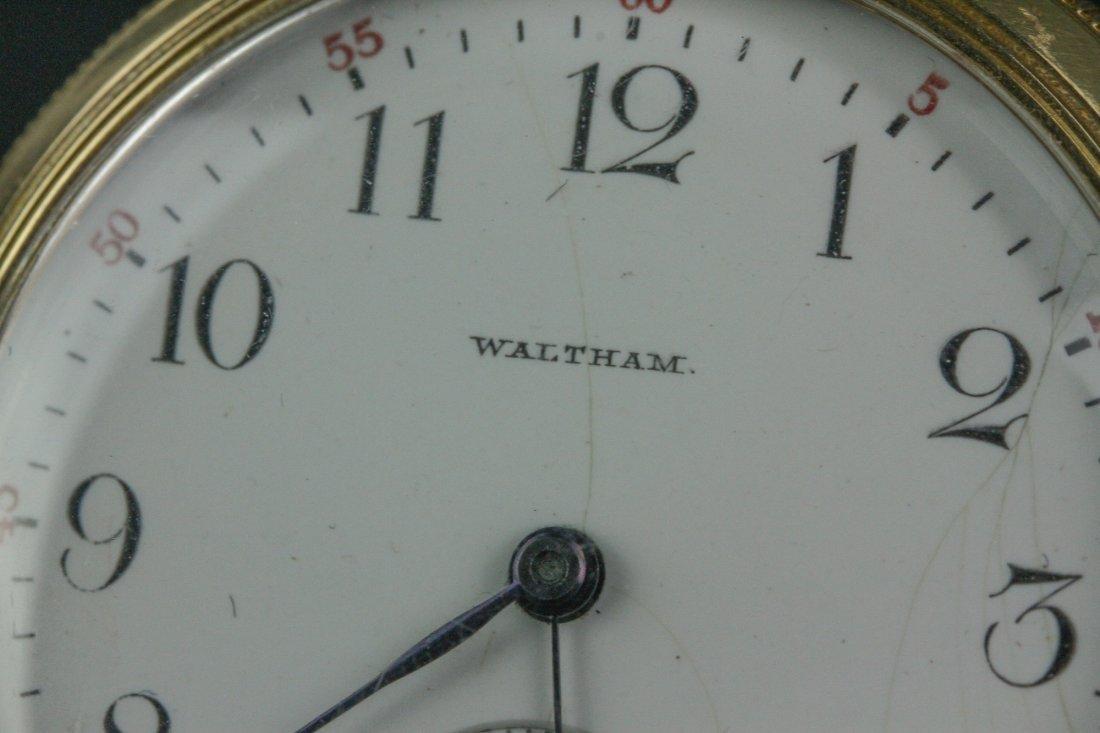 14K Waltham Pocket Watch - 3