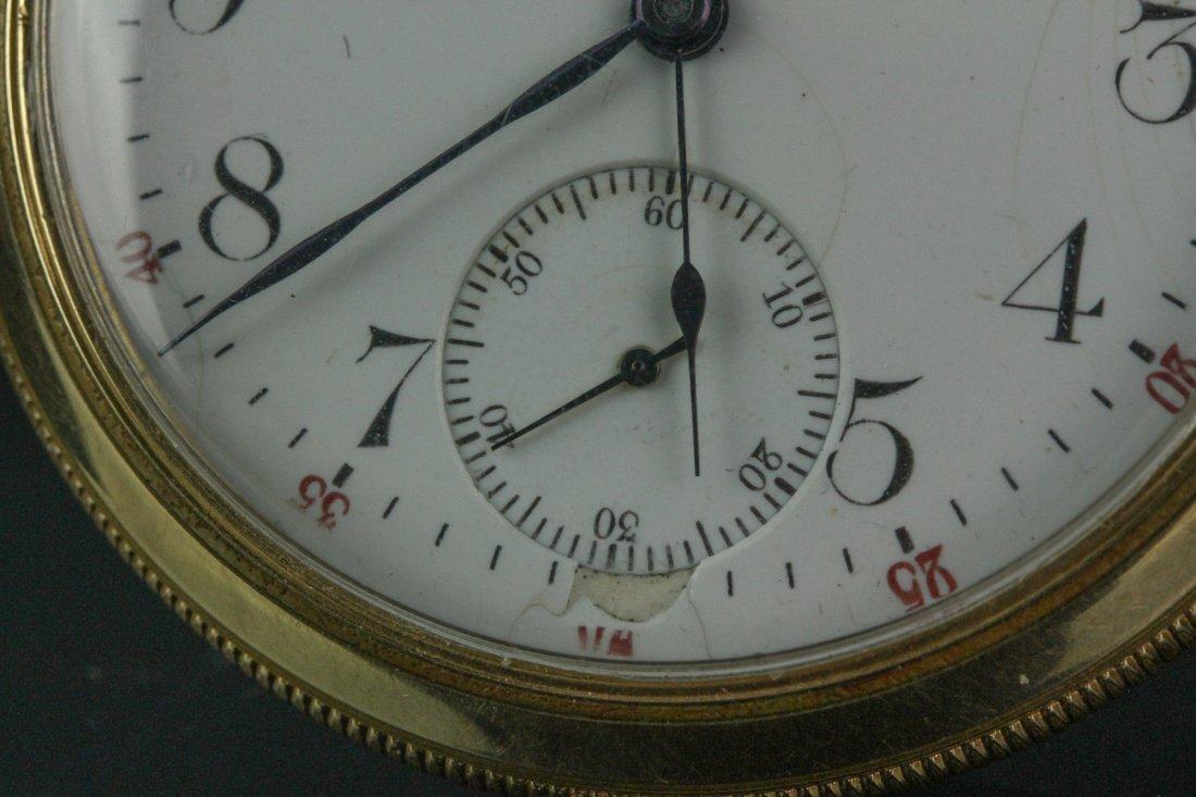 14K Waltham Pocket Watch - 4