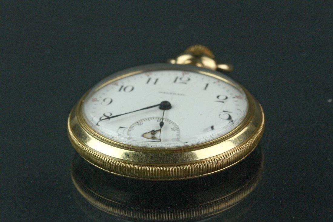 14K Waltham Pocket Watch - 5