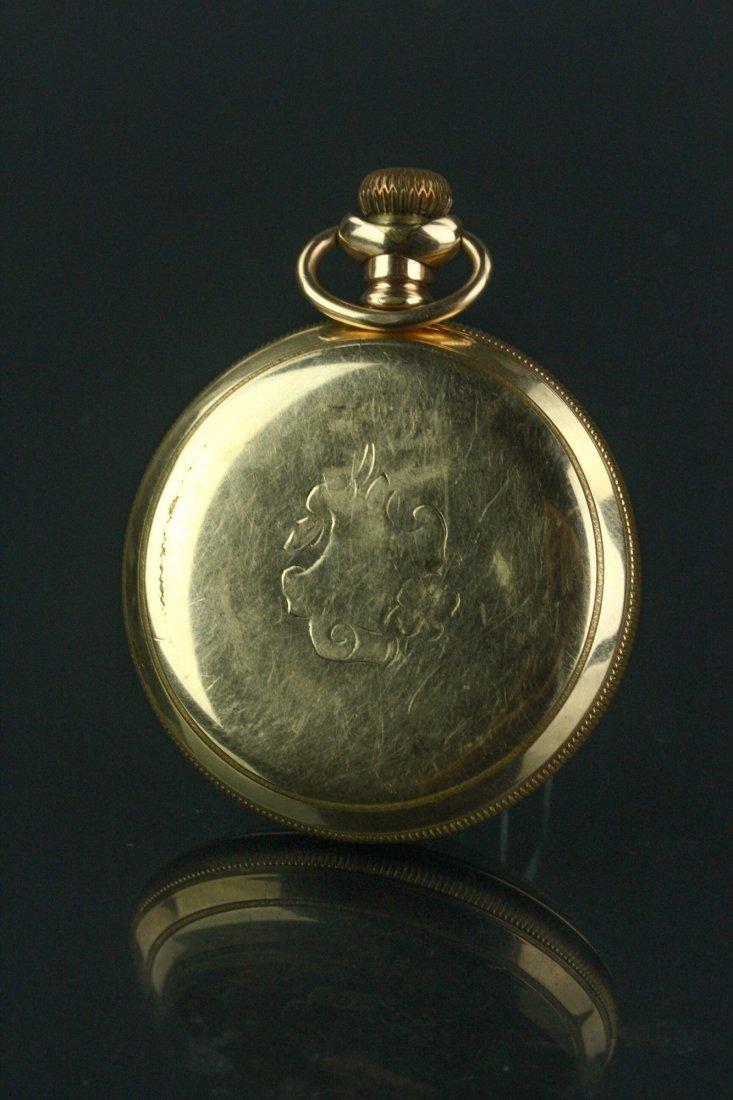 14K Waltham Pocket Watch - 6