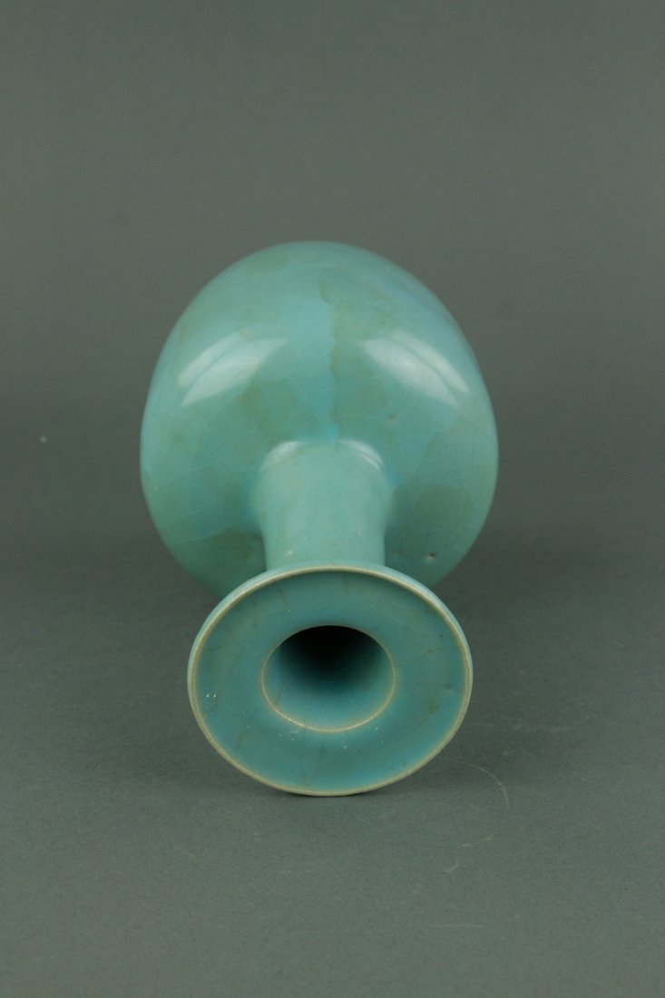 Chinese Song Style Porcelain Guan Vase - 3