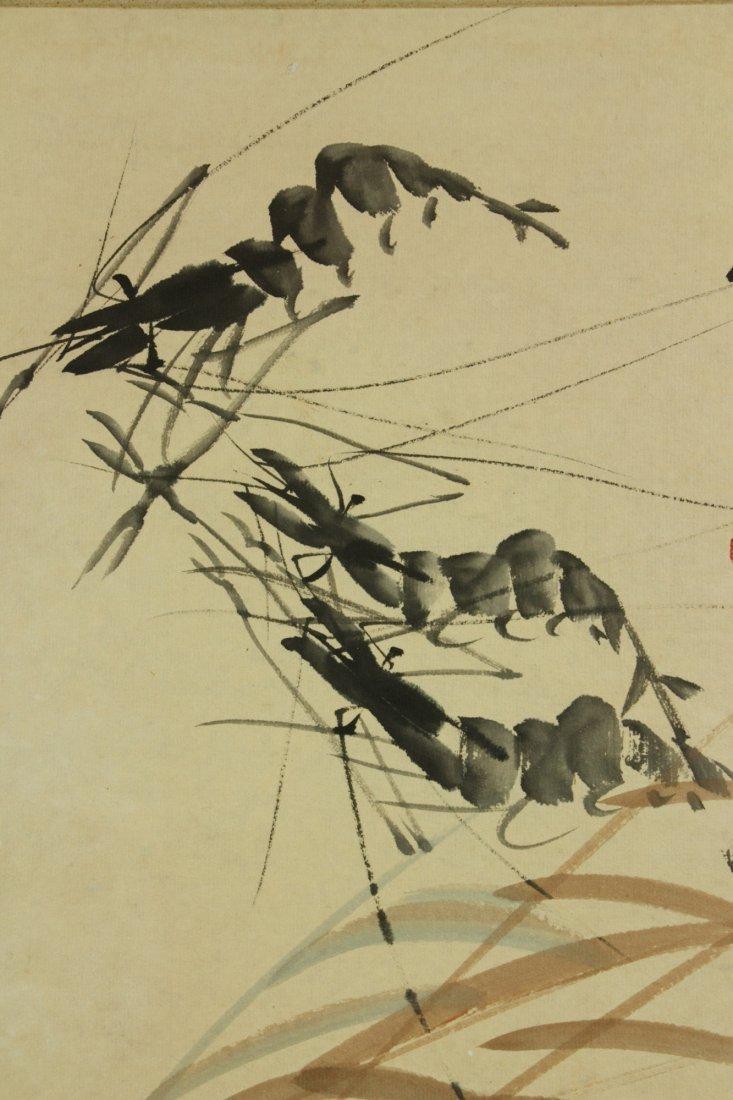 Qi Baishi 1864-1957 Watercolour on Paper - 4