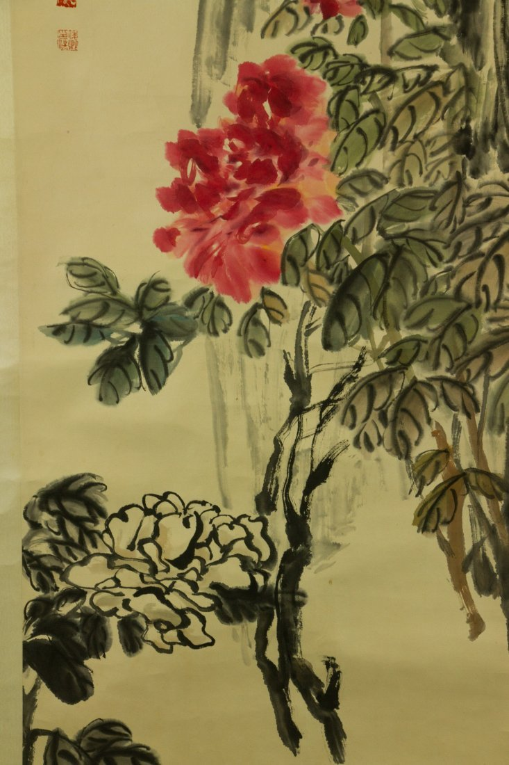 Wu Changshuo 1844-1927 Watercolour on Paper - 3