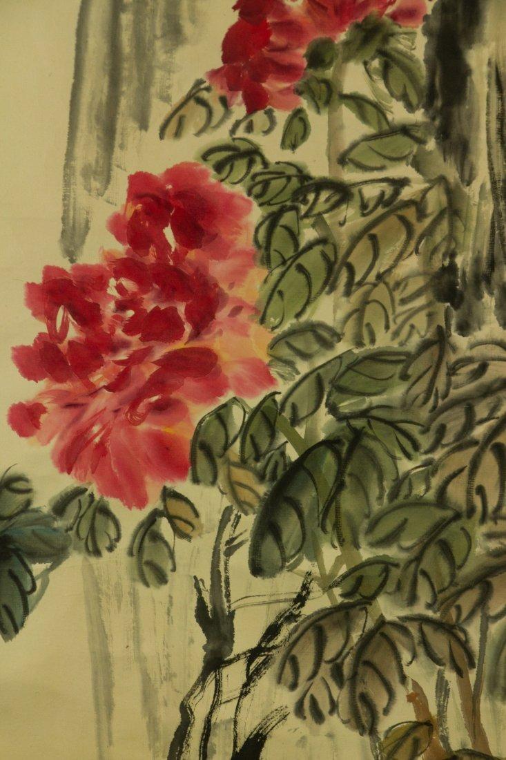 Wu Changshuo 1844-1927 Watercolour on Paper - 4