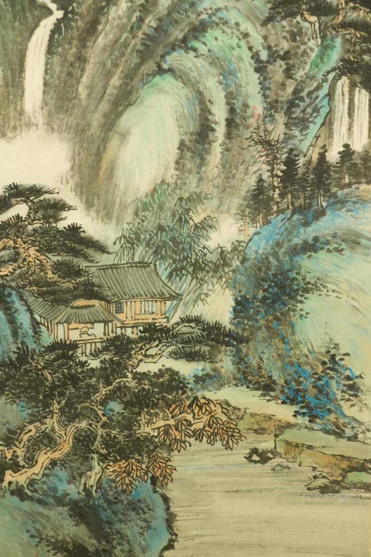 Li Xiongcai 1910-2001 Chinese Watercolour on Paper - 3