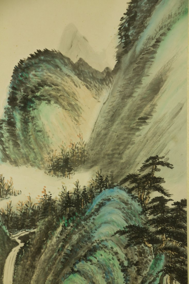Li Xiongcai 1910-2001 Chinese Watercolour on Paper - 4