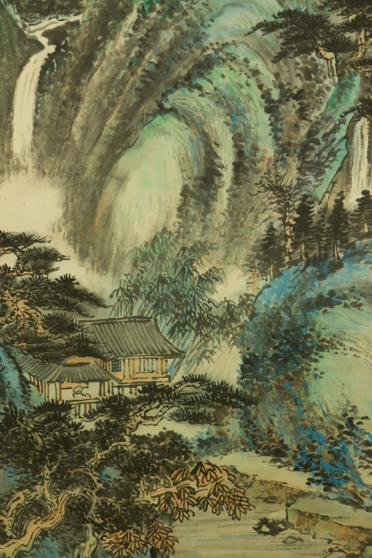 Li Xiongcai 1910-2001 Chinese Watercolour on Paper - 6