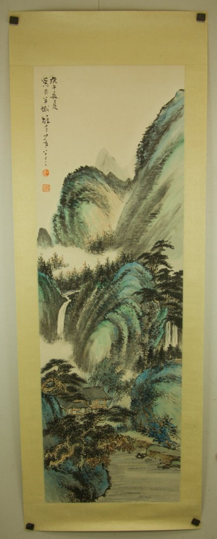 Li Xiongcai 1910-2001 Chinese Watercolour on Paper - 7