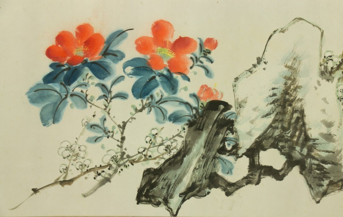 Song Meiling 1898-2003 Watercolour on Paper - 4