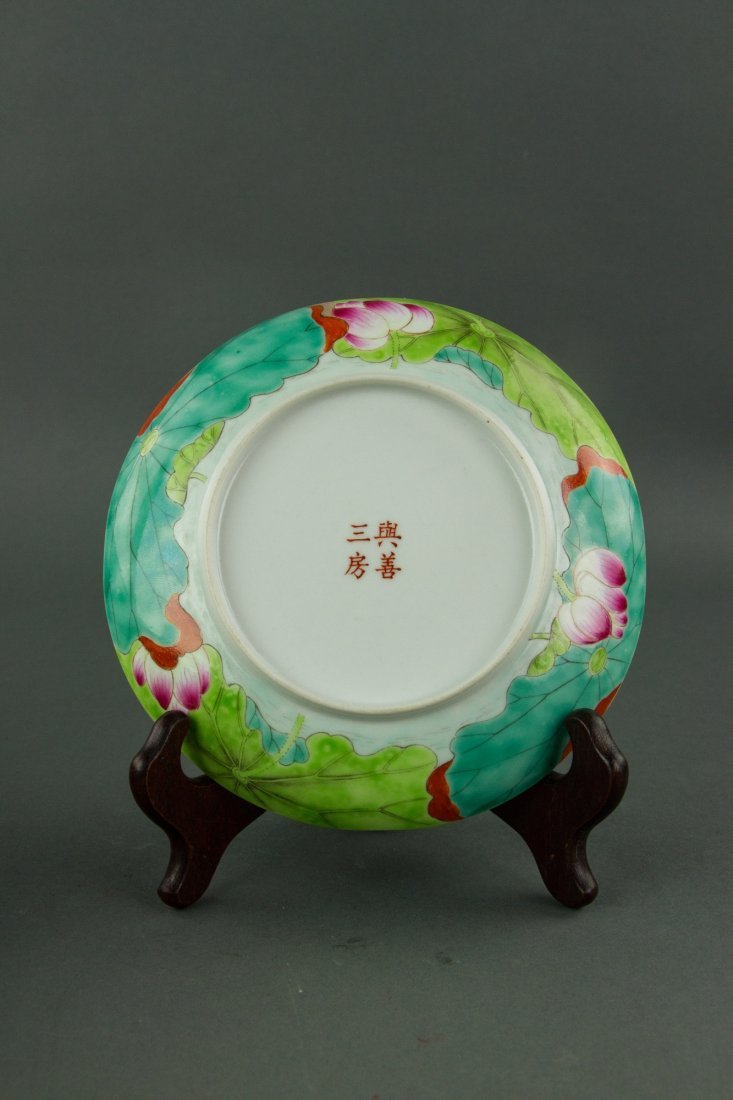 Coral Bracelet Jewellery Box and Porcelain Plate - 4