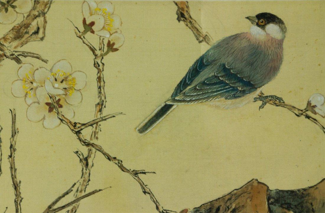 Lu Xiaoman 1903-1965 Watercolour on Silk - 3