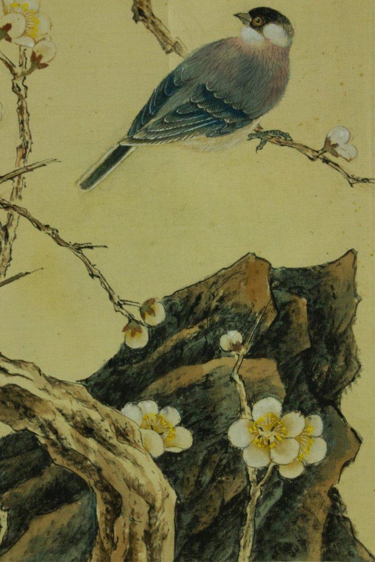 Lu Xiaoman 1903-1965 Watercolour on Silk - 4