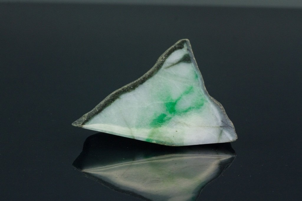 Chinese Natural Green Jadeite Uncarved Boulder