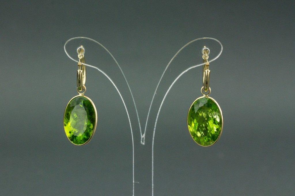 14k Gold Peridot (33.80ct) Earrings CRV$2750