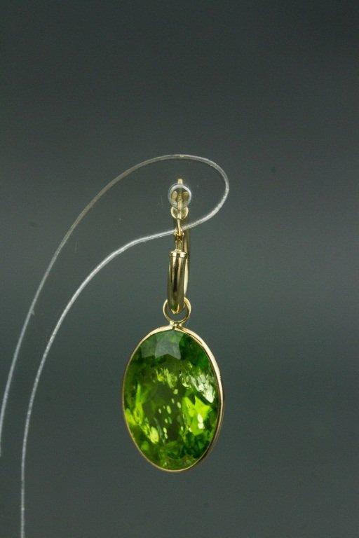 14k Gold Peridot (33.80ct) Earrings CRV$2750 - 2