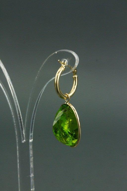 14k Gold Peridot (33.80ct) Earrings CRV$2750 - 3