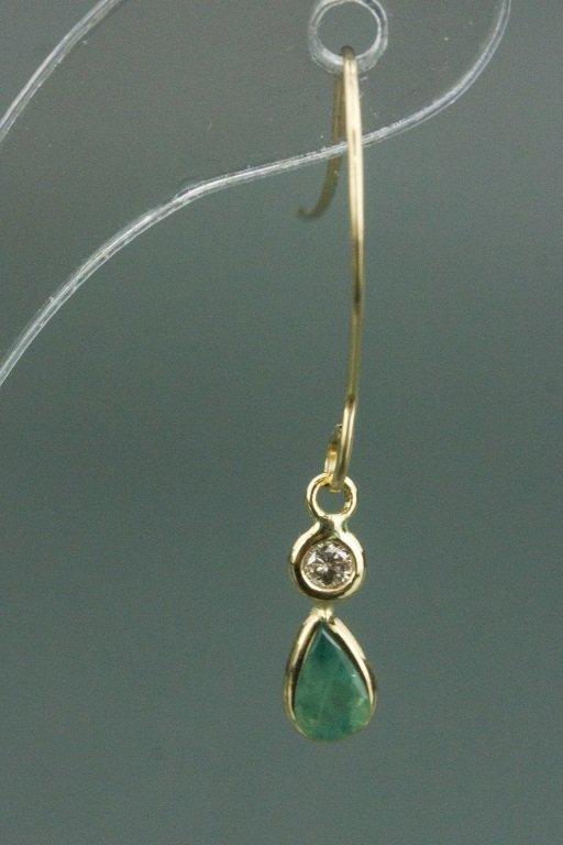 14kt Gold Alexandrite & Diamond Earrings CRV$1500 - 2