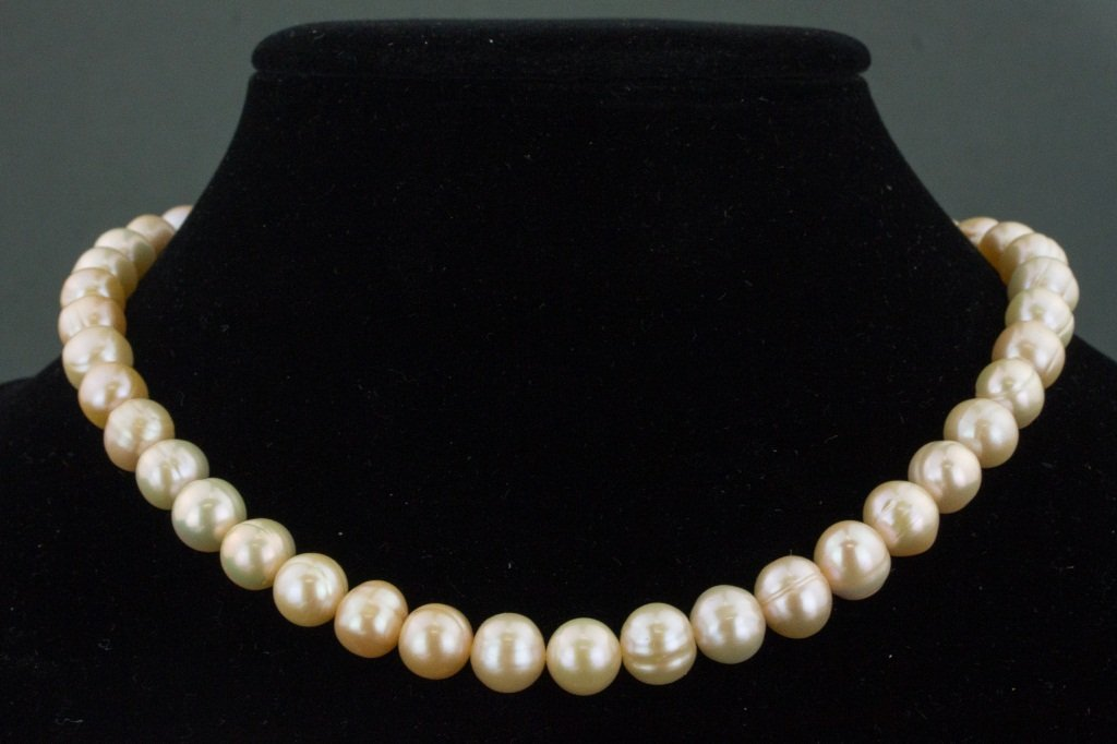 Sterling Silver Freshwater Pearl Necklace CRV$621