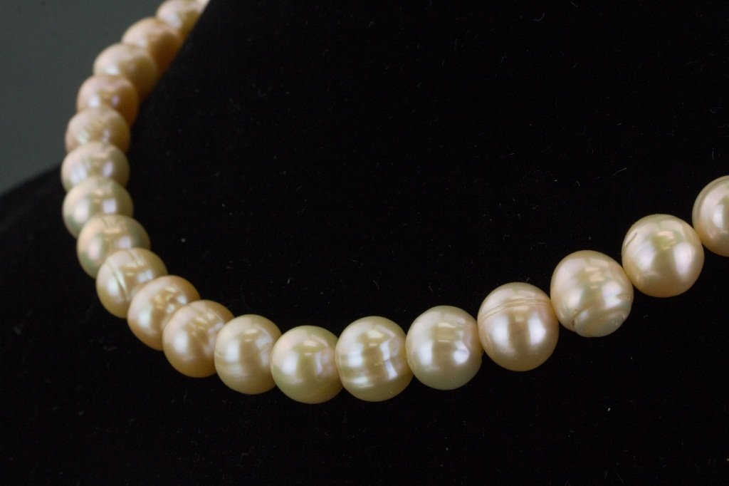 Sterling Silver Freshwater Pearl Necklace CRV$621 - 2
