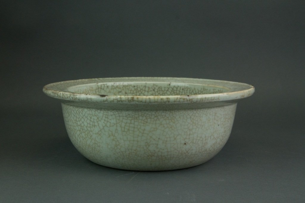 Yuan or Early Ming Period Geyao Porcelain Bowl
