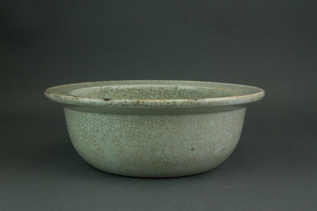 Yuan or Early Ming Period Geyao Porcelain Bowl