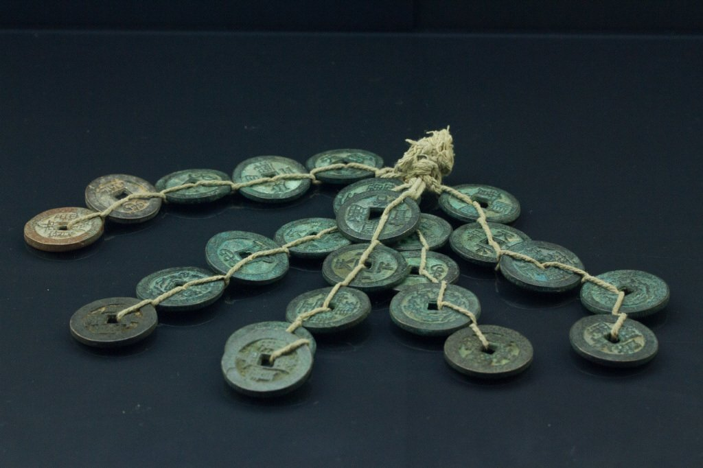 Group of Chinese Bronze Coins
