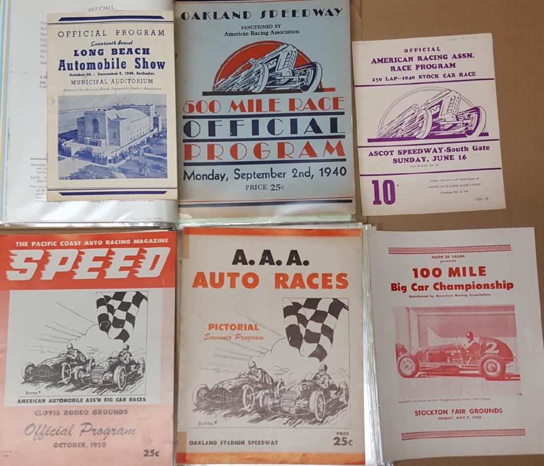 Southern Ascot Speedway notebooks