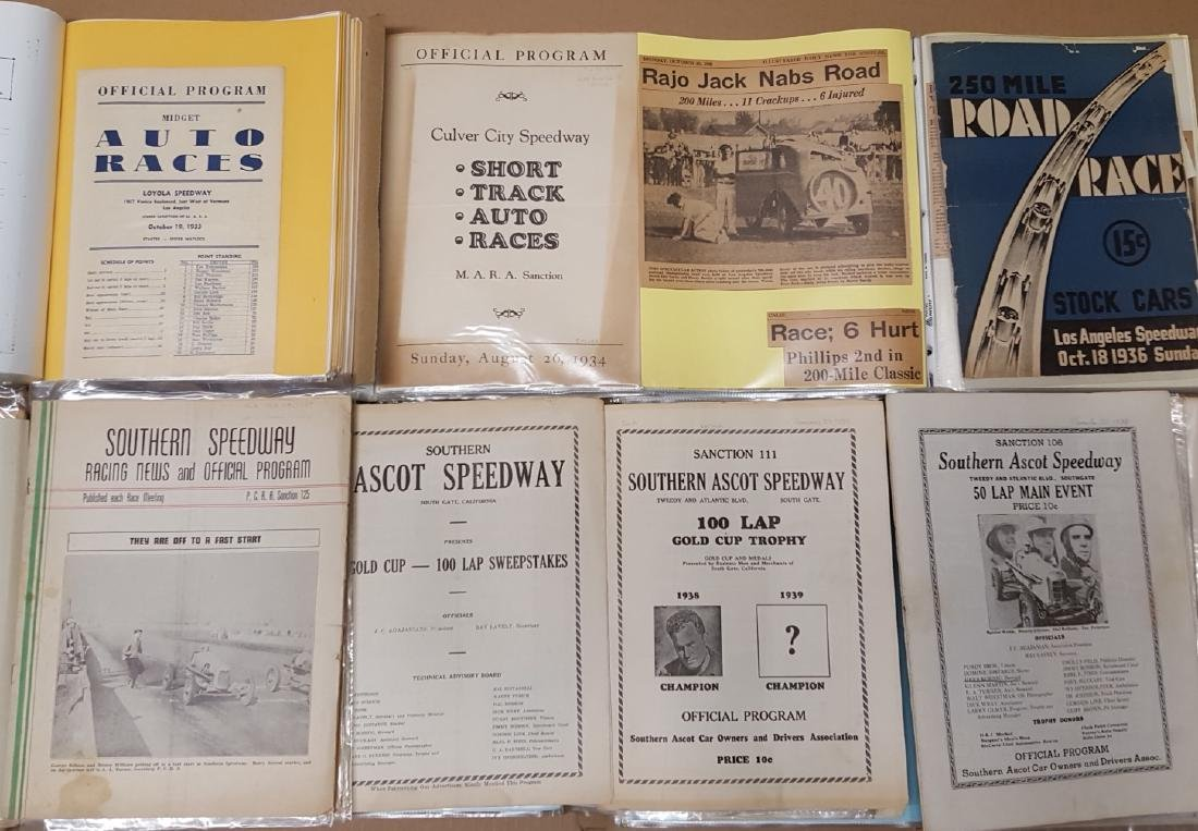 Southern Ascot Speedway notebooks - 3