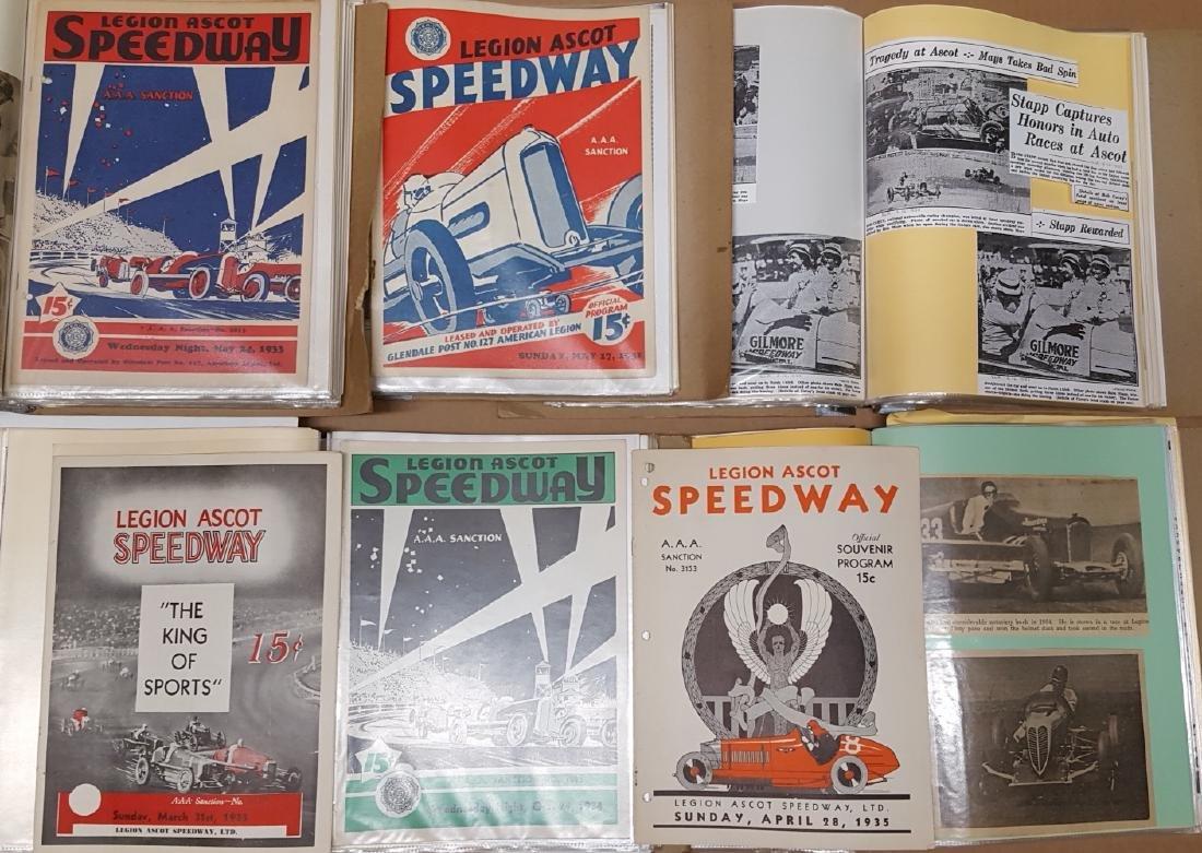 Legion Ascot Speedway notebooks
