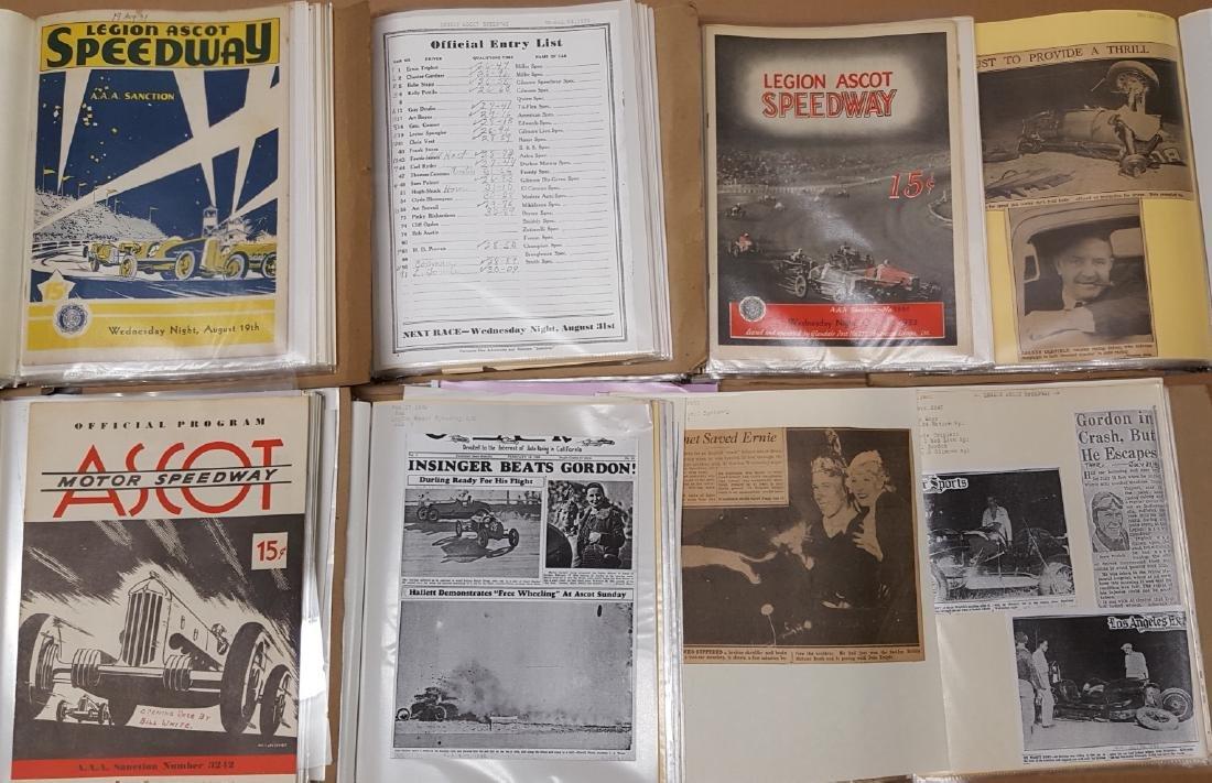 Legion Ascot Speedway notebooks - 2